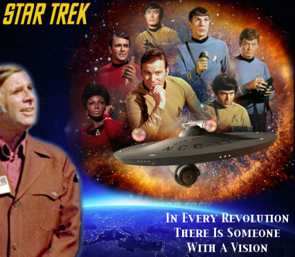 Gene Roddenberry's Vision of a Positive Future